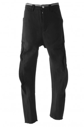 Pants PA63-MC6-CUT HEAVY COTTON DOUBLE FACE