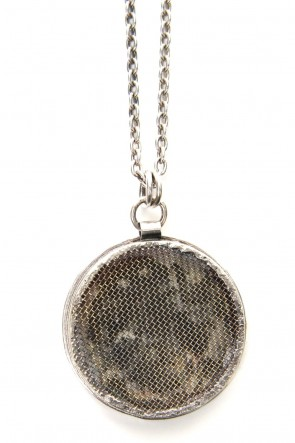 iolom Classic Circle bezel necklace  io-03-076