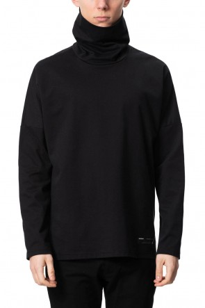 ATTACHMENT 20-21AW Coolmax moclodis Swede turtleneck L/S Black