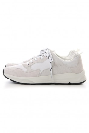 FACTOTUM 19SS Combination Sneaker - White
