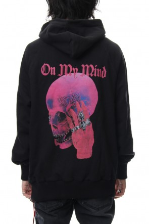 CAVIALE 18-19AW Limited Pink Skull Hoodie