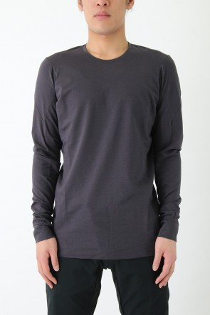 Co/Pe fusion yarn jersey loose fit L/S