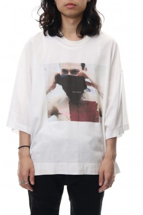 JULIUS 19SS PRINT T-SHIRT White