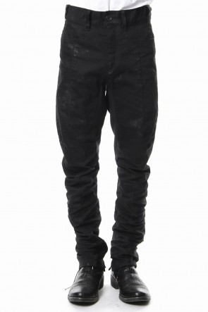 SADDAM TEISSY 19SS Dirty coating curve slim pants - ST107-0059S