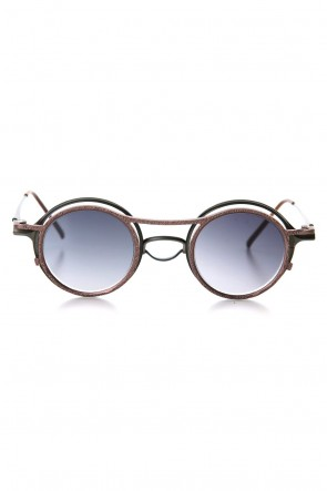 The Viridi-anne 19-20AW RIGARDS collaboration sunglasses - Moss / A.Brown