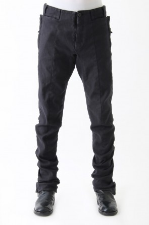 SADDAM TEISSY 17-18AW Garment dye Stretch Curve Pants