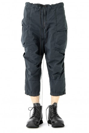The Viridi-anne 18SS Product Dyed Cargo Cropped Pants