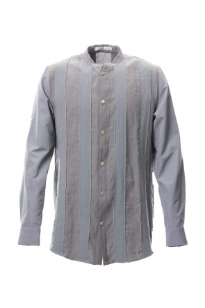 individual sentiments 18SS Shirt SH33 Light Linen Hard Twist Cotton Boil