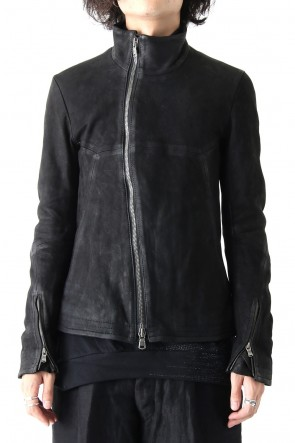 The Viridi-anne 17-18AW Lamb Leather Jacket Nubuck