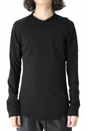 Long Sleeve Medium Jersey Black