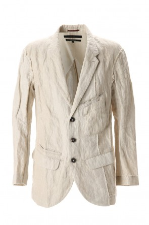 ZIGGY CHEN 20SS Cotton Metal Tailored Jacket
