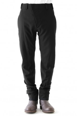 Slim Pants Wool Super 120's Gabadine
