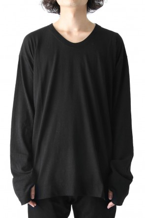 JULIUS 17-18AW U-NECK CUT-SEW