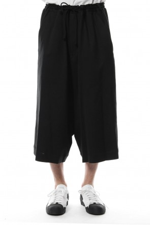 Ground Y 18SS Gaucho Pants 40/C Plain Stitch Fabric