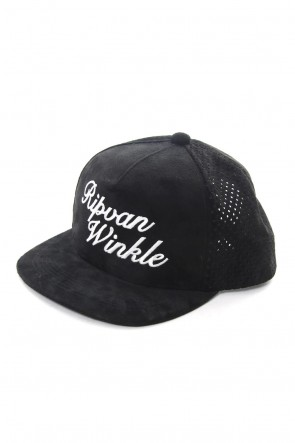 RIPVANWINKLE 19PS Trucker Leather Cap R+050