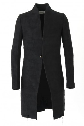 RAISED NECK COAT