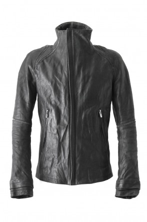 SADDAM TEISSY 18SS High Neck Leather Jacket