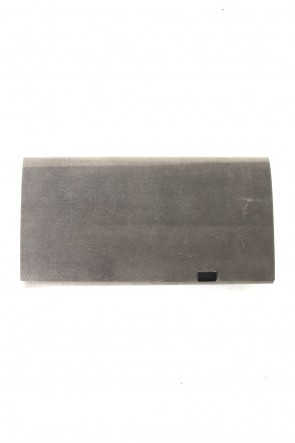 No,No,Yes! 17-18AW No,No,Yes! -shosa- Long Wallet (NUBUCK)