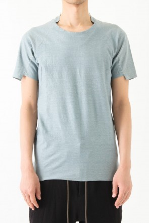 Short Sleeve T Cotton Linen Jersey CT44S-LJ38