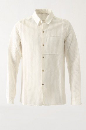 Shirt SH32 Japanese Wash / Cotton Akiha Pique 1 - individual sentiments