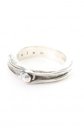 iolom Classic Pin Studded Wire Ring - io-01-130