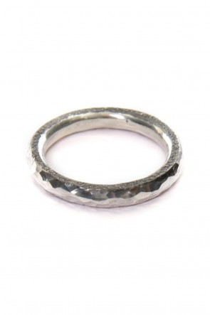 iolom Classic Tsuchi hammered Ring 3.5mm - io-01-150-A