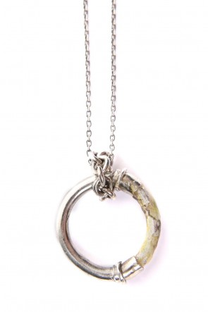 iolom Classic Enamel Ring Necklace - io-03-026
