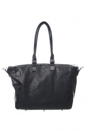 iolom Classic Trapezium Boston Bag Cow Leather