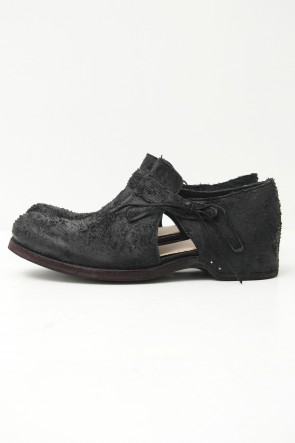 individual sentiments 15SS Lamb Leather Monk Shoes