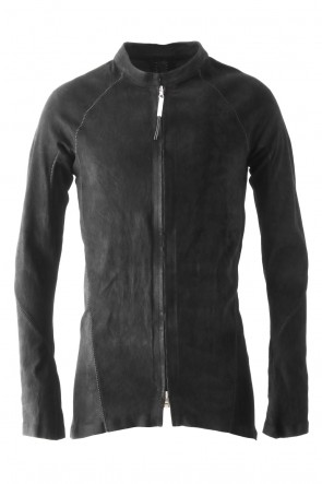 ISAAC SELLAM 17-18AW Stretch Leather Shirt - ARPENTEUR OV