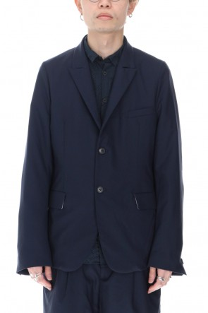 Bergfabel 21SS Summer Jacket Navy