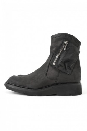 17SS Double Side Zip Engineer Boots NUBUCK