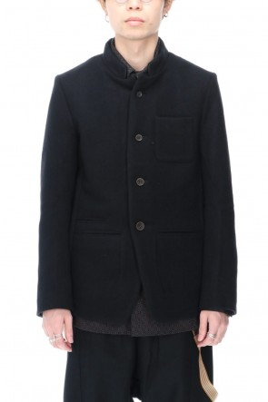 individual sentiments 20-21AW Wool Nylon Melton Jacket
