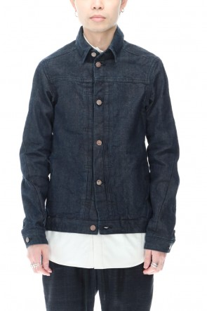 DEVOA 20-21AW Jacket Denim 13oz cotton selvedge Indigo-Blue