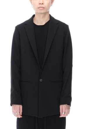 DEVOA 20-21AW Jacket 4way stretch wool Black