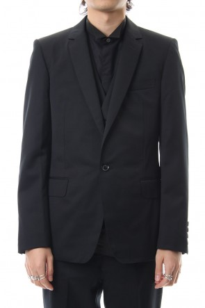 JOHN LAWRENCE SULLIVAN 19-20AW WOOL 1BUTTON JACKET