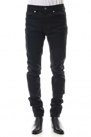 JOHN LAWRENCE SULLIVAN 19-20AW RIGID DENIM SKINNY PANTS