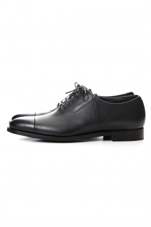 JOHN LAWRENCE SULLIVAN 20SS LEATHER STRAIGHT TIP SHOES