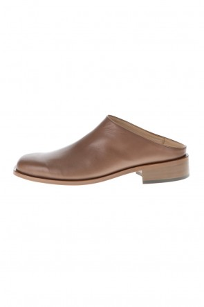 KAZUYUKI KUMAGAI 21SS Cow leather Slip-on D.Beige