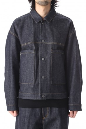 KAZUYUKI KUMAGAI 20-21AW 12.5oz Selvage denim Tracker jacket