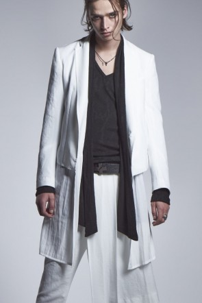 kiryuyrik 20-21AW Layered Jacket White