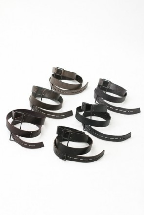 DEVOA 15SS Hook Leather Belt