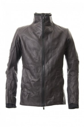 Leather jacket cow leather - Charcoal-Charcoal-2-store