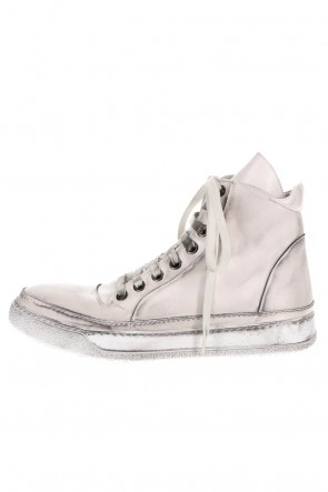masnada 20-21AW LEATHER SNEAKERS ICE