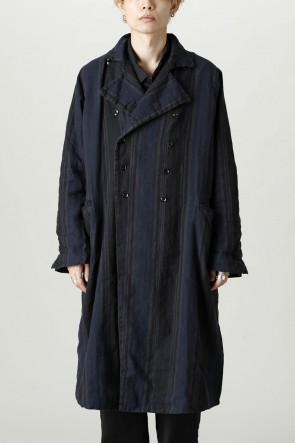 GARMENT REPRODUCTION OF WORKERS21-22AWNew Double Coat  Stacking Stripe