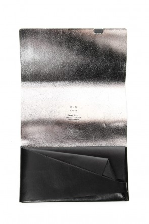 No,No,Yes! BASIC No,No,Yes! -shosa- Long Wallet Black x Silver