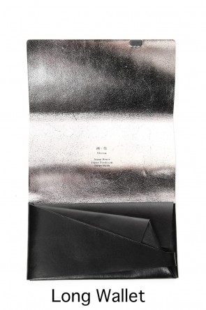 No,No,Yes! BASIC Shosa - No,No,Yes! Long Wallet Black x Silver