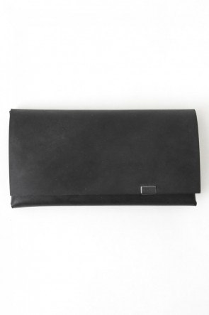 No,No,Yes!  - shosa - LIMITED  Long Wallet (OIL NUBUCK LEATHER)  BLACK