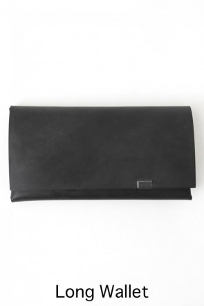 No,No,Yes! BASIC Shosa - No,No,Yes! Long Wallet Oil Nubuck Black