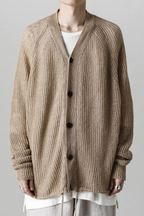 O PROJECT22SSKNITTED BOMBER CARDIGAN GOLDEN